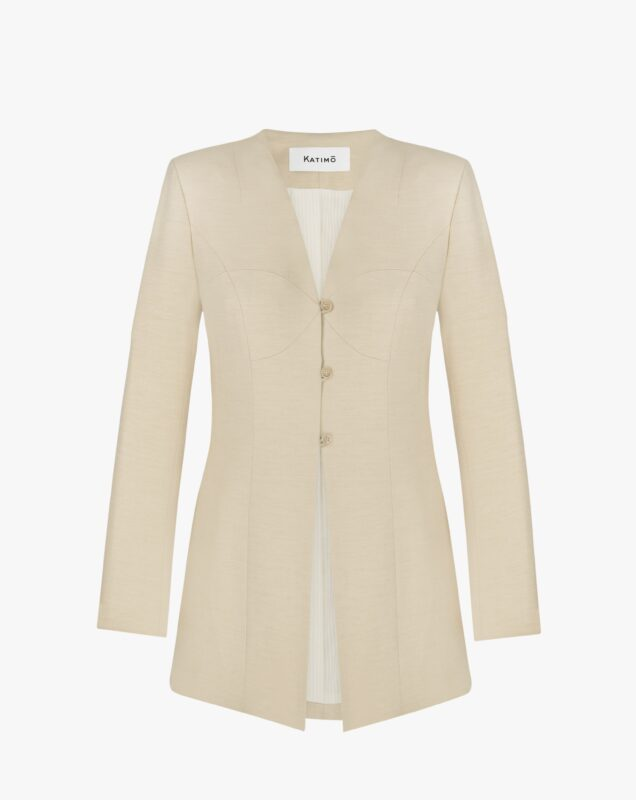 Light-beige jacket