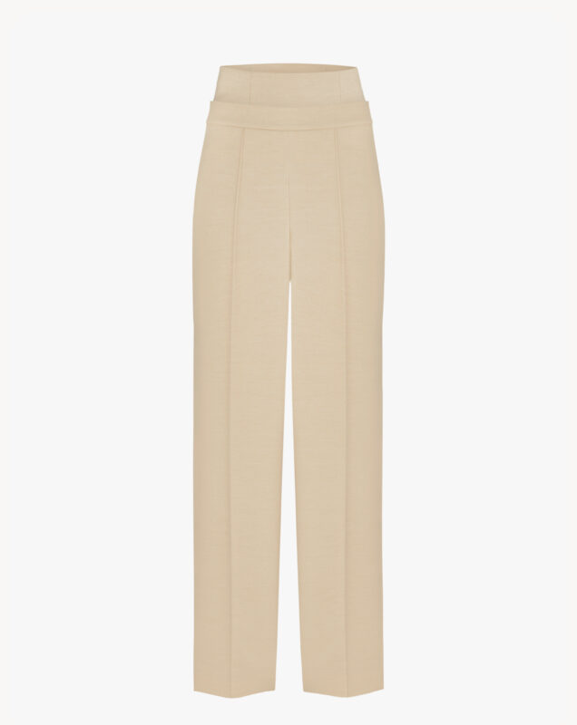 Light-beige trousers